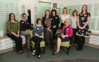 Quite the Partnership: Drage and Tozer Celebrate 25 Years of Providing Eyecare in Sudbury