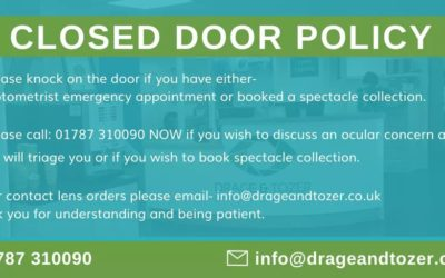 Closed Door Policy