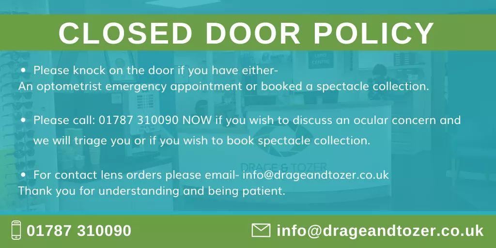 Closed Door Policy
